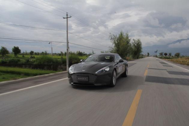 007新装备 2015款阿斯顿・马丁Rapide S