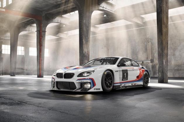 亮相法兰克福车展 全新宝马M6 GT3赛车