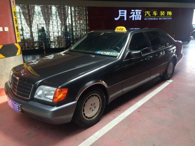2015中国国际老爷车展奔驰专区