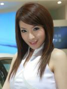 丰田展台模特