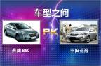 第61期:奔腾B50 PK 丰田花冠