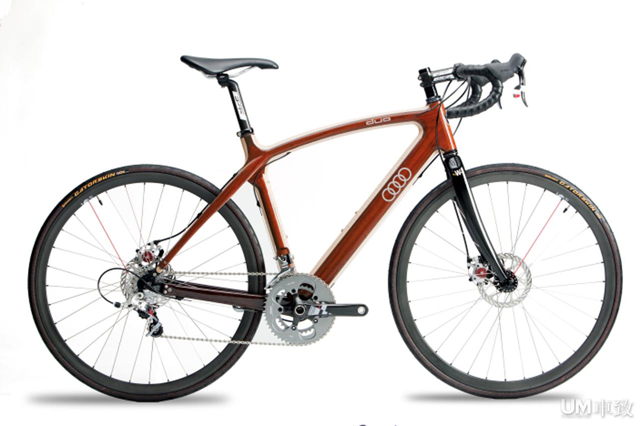 奥迪推出木质自行车