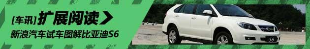 新浪汽车体验试驾比亚迪S6