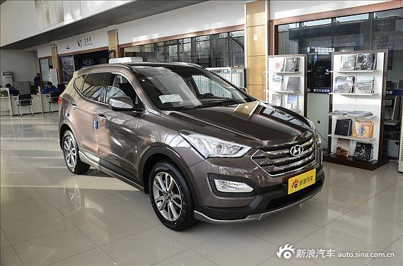 2013款进口现代全新胜达舒适导航版