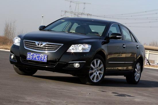 为广州车展调整价格凯美瑞优惠现金1.3万