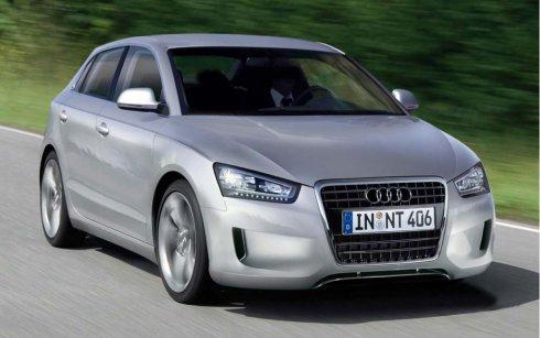 新一代奥迪A2假想图曝光配备三缸发动机