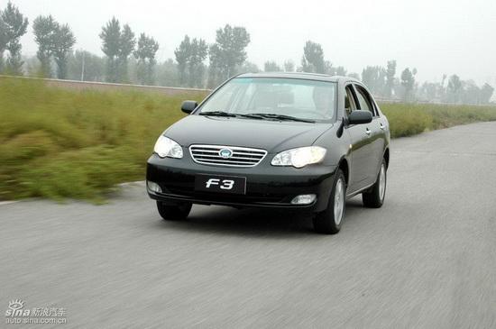 市场现车较少比亚迪F3优惠幅度缩水2000元