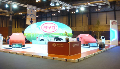 F3DM亮相西班牙国际环保车展(图)