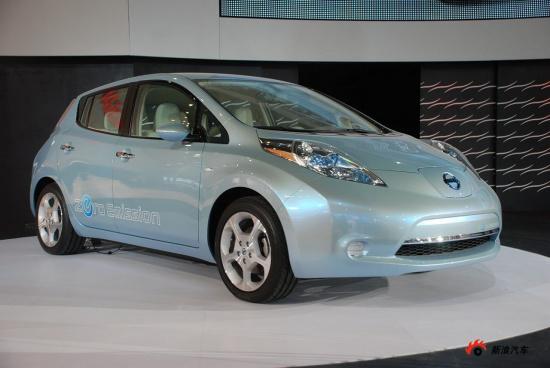 日产纯电动车聆风Leaf售价将低于30000欧元