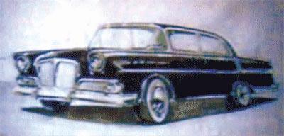程正提供的照片,上图为克莱斯勒样车