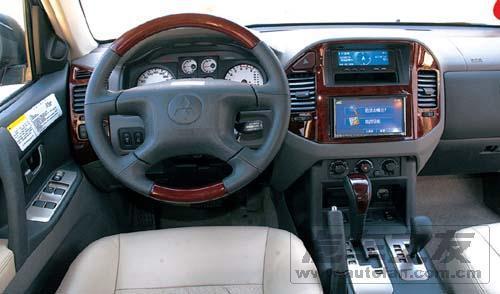 试驾08款长丰三菱帕杰罗