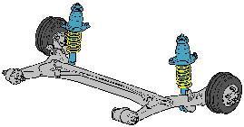 结构简单的后悬架结构拥有悠久的历史,操控极限较高,但是需要你有高超的驾驶技术。