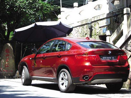 宝马X6全能轿跑车外观图片