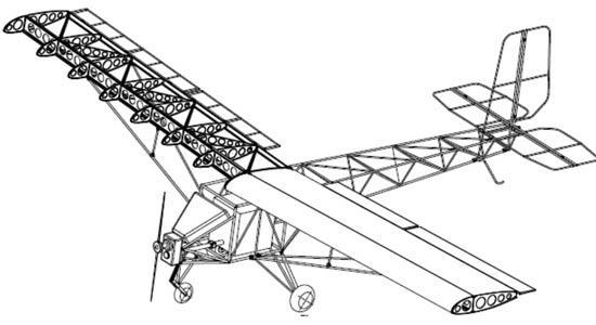 图为飞机结构图