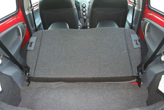 车厢尾部空间