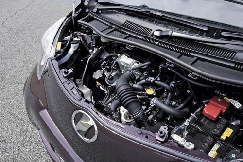 丰田iQ发动机图片