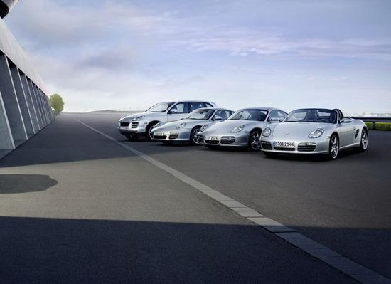 保时捷现有车型在静静等待新车型的加入