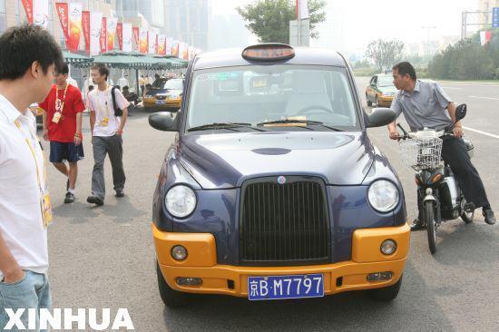 """随着首批300辆北京现代""""索纳塔""""驶入北汽集团,北京出租车开始鸟枪换炮"""