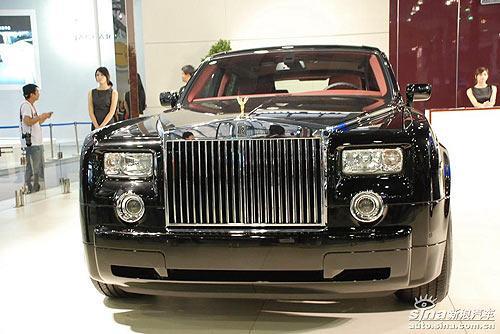 劳斯莱斯携新款幻影双门轿跑车亮相08广州车展