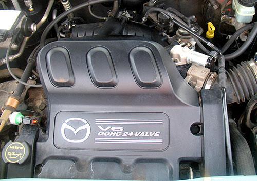 载3.0升V6发动机-学习马自达丘比特 独家揭秘海马首款SUV高清图片