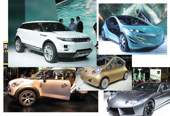 众多新技术运用在新的概念车上