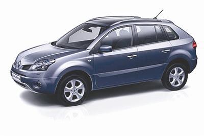 图为 雷诺首款SUV车型KOLEOS