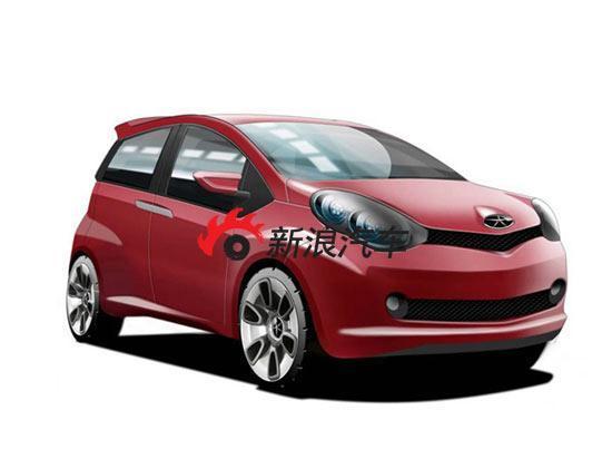 从效果图来看,江淮的微车造型基本摆脱了AYGO的影子