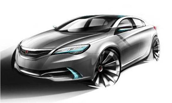 将在车展亮相的350车型效果图