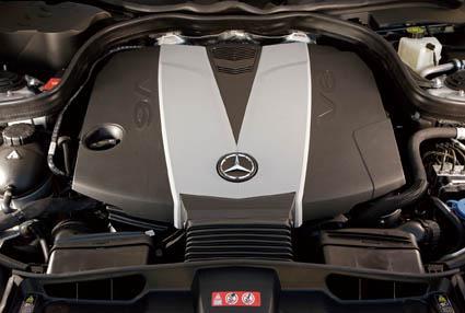梅赛德斯-奔驰新E-Class发动机