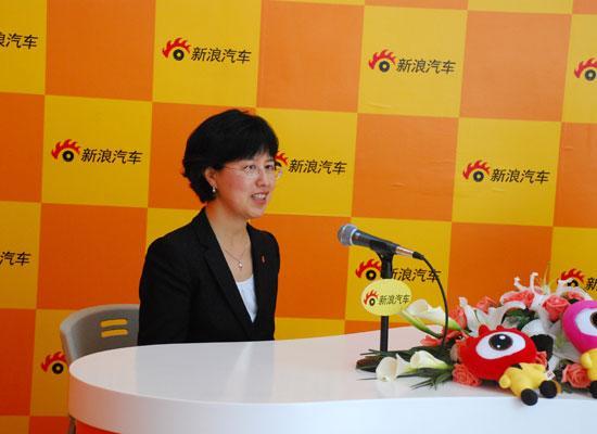 劳斯莱斯汽车有限公司大中国区总经理郑津兰接受新浪汽车专访