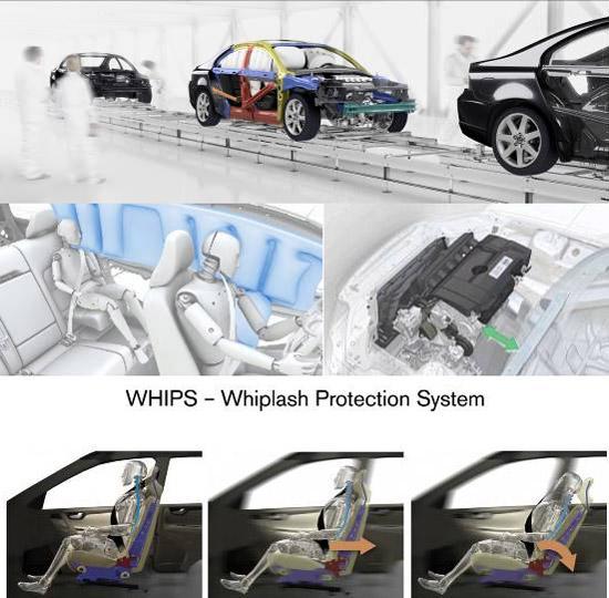 S80L车身安全系统
