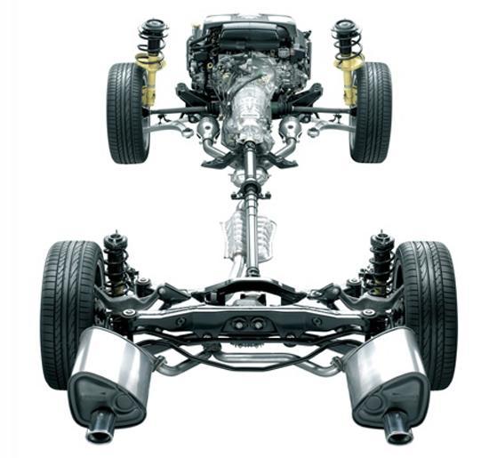 斯巴鲁也是四驱架构,使用了前纵置发动机,但森林人的四驱不敢恭维