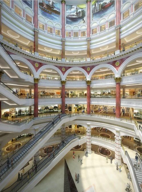 """白天打着灯笼都难找的购物中心-""""环球港""""来了"""