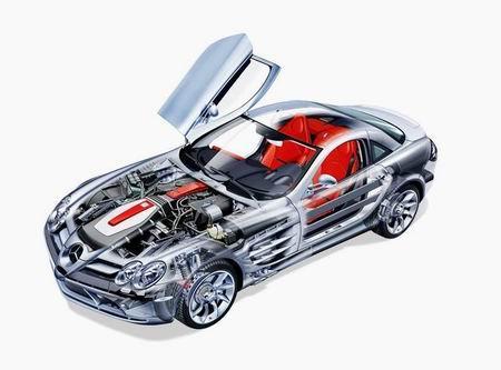 组图:法兰克福车展--新款奔驰SLR迈凯轮(五)