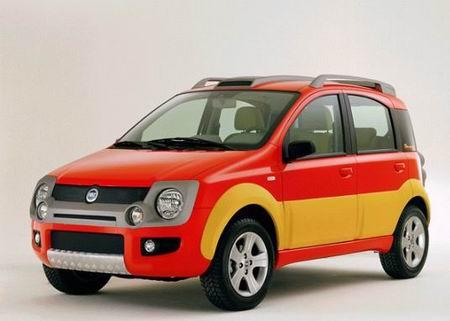 车展快报--菲亚特新款熊猫SUV亮相(图)