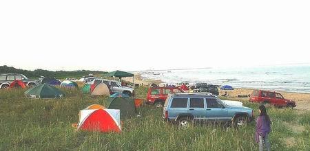 迎着海风,让我在沙滩上撒个野!