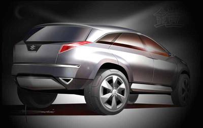 北美车展预览 铃木新SUV概念车高清图片