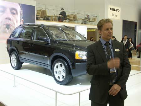 专访VolvoXC90V8代言人汉斯・欧森