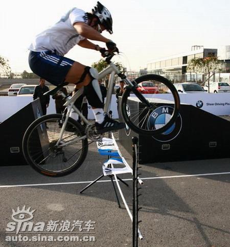 也许是你的第一辆BMW新浪试驾Enduro自行车