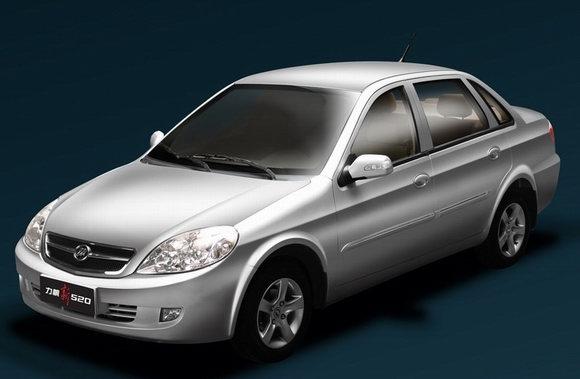力帆新520轿车上市售价4.968-7.88万元(图)