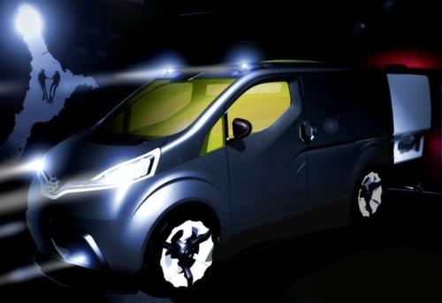 日产创新概念小型商用车NV200将亮相东京车展