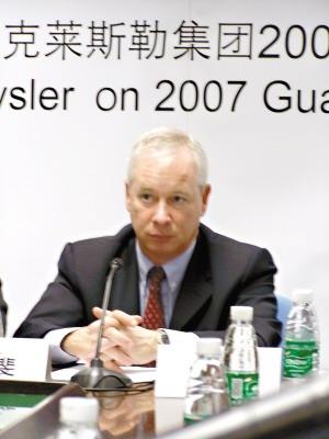 克莱斯勒亚洲CEO墨斐:要在中国成功必先国产化