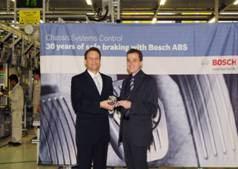 博世ABS在华产量突破150万台
