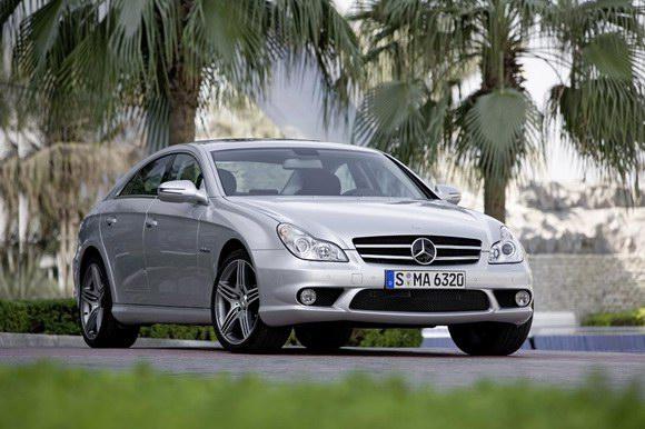 奔驰轿跑车CLS63AMG中国上市售价168万元