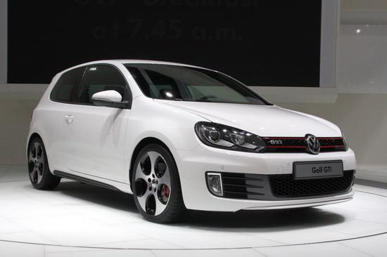 新一代大众高尔夫GTi将在巴黎车展首发(组图)