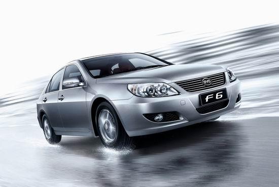 比亚迪F6最高降1万元09年冲击40万辆销售目标