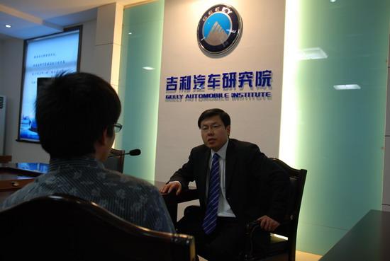 独家专访吉利副总裁赵福全上海车展新车全曝光