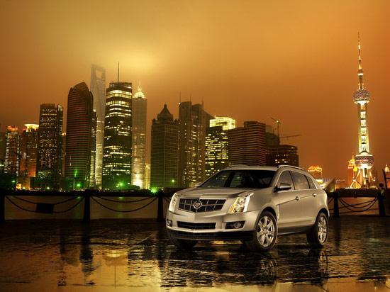 凯迪拉克全新SRX即将瞩目亮相2009上海车展