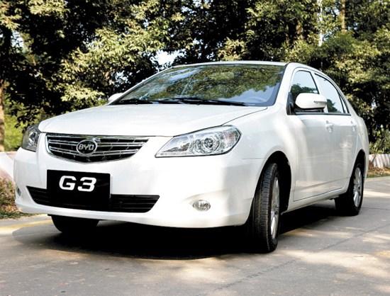 比亚迪G3演绎中级车科技美学