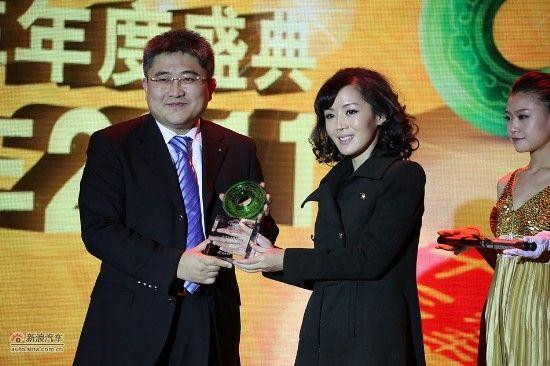 年度公商务车奖:华晨宝马新5系Li